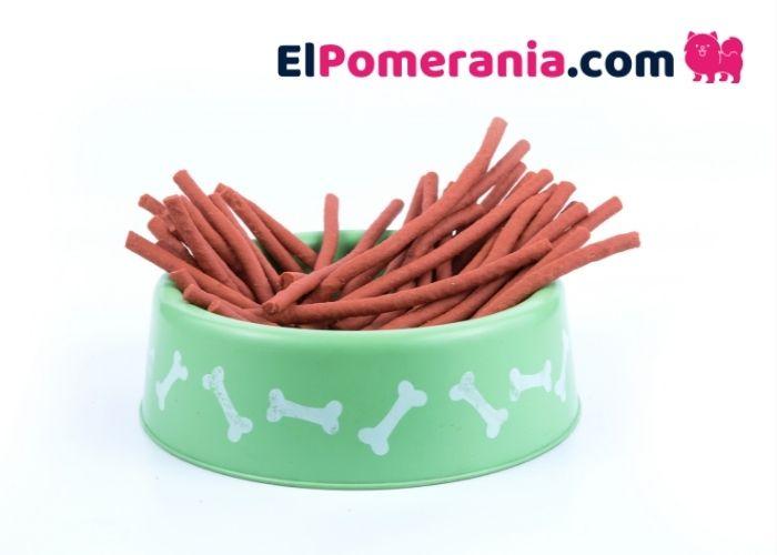 Snacks para perro Pomerania